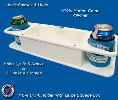 MB-4 Large Double Drink holder