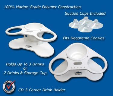 CD-3 Corner Drink Holder
