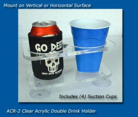 ACR-2 Acrylic Double Cup Holder