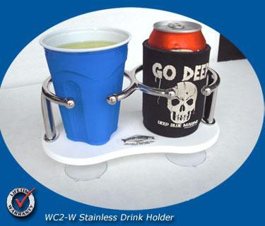 WCH-2 Stainless Drink Holder