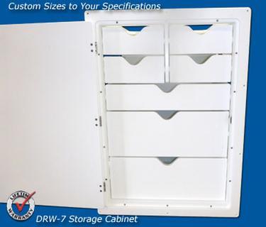 Tackle/Boat Storage DRW-7 Storage Cabinet | Marine ...