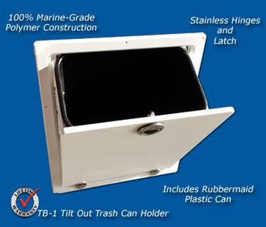 Tackle Boat Storage Tb 1 Trash Can Assembly Marine