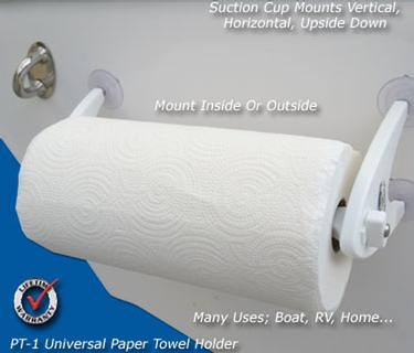 Tool Holders PT-1 Paper Towel Holder | Marine, Boating And Fishing ...