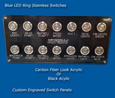 Custom Switch Panels Custom Switch Panels | Marine, Boating
