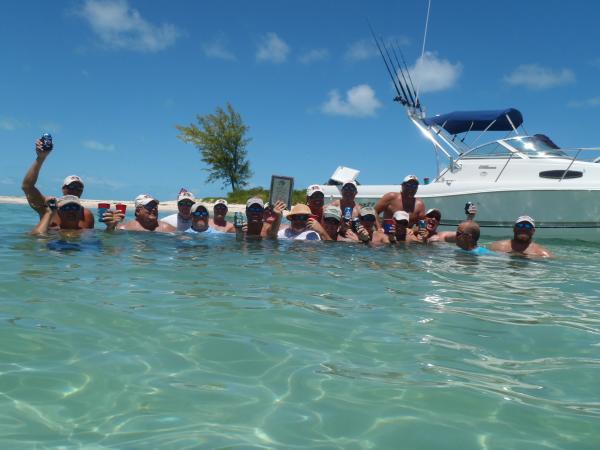 Deep Blue in Bimini with Team Hover